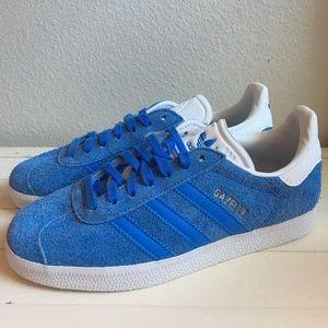 Adidas Blue Gazelle Sneaker Tennis Shoes